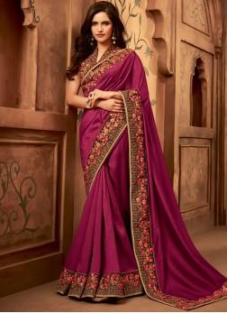 Absorbing Fancy Fabric Bridal Classic Saree