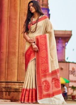 Aesthetic Art Silk Party Designer Traditional Saree
