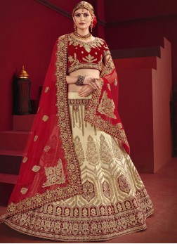 Affectionate Designer Lehenga Choli For Mehndi