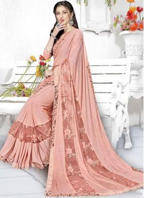 Angelic Lace Classic Designer Saree