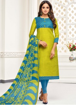 Astonishing Printed Casual Salwar Kameez