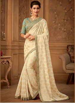 Attractive Banarasi Silk Trendy Saree