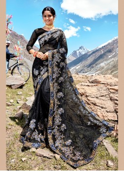 Beauteous Net Saree