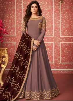 Beautiful Embroidered Party Anarkali Salwar Suit