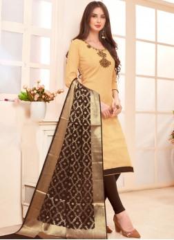 Beige Color Salwar Suit