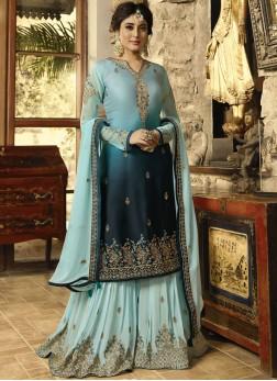 Blue Party Designer Pakistani Suit