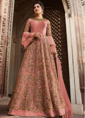 Breathtaking Net Sangeet Anarkali Salwar Kameez