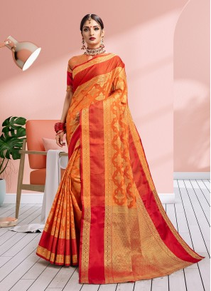 Chic Weaving Traditional Saree