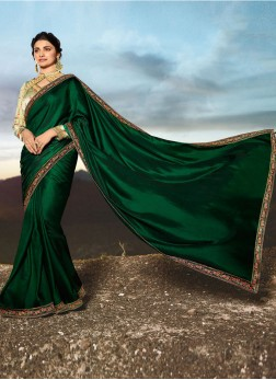 Competent Lace Prachi Desai Traditional Saree