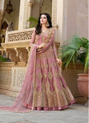 Competent Long Choli gown For Wedding