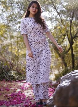 Cotton Party Wear Kurti in Multi Colour