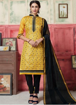 Dashing Yellow Festival Designer Suit