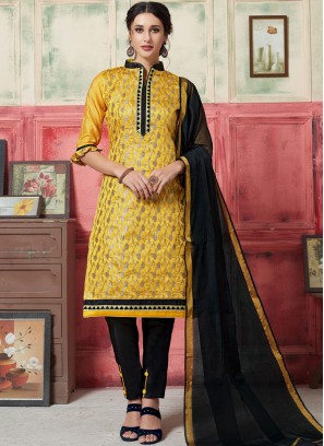 Dashing Yellow Festival Designer Suit