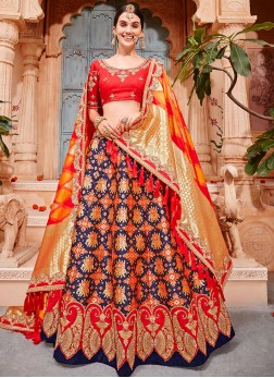 Dazzling Lehenga Choli For Bridal