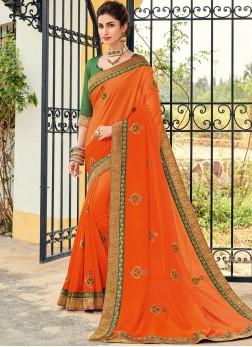 Dilettante Patch Border Art Silk Designer Traditional Saree