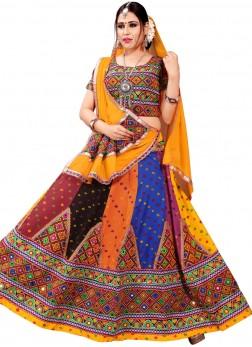 Distinctive Cotton navratri ChaniyaCholi