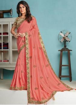 Distinctively Designer Traditional Saree For Wedding