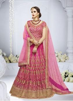Divine Handwork Net Designer Lehenga Choli