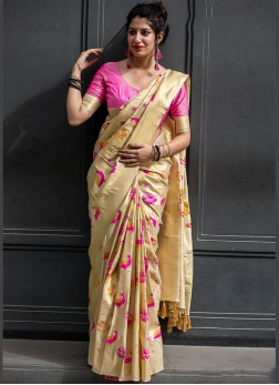 Fabulous Art Silk Weaving Traditional Designer Saree