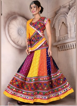 Fashionable Fancy Festival chaniya choli