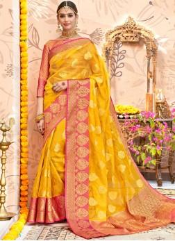 Festal Designer Traditional Saree For Festival