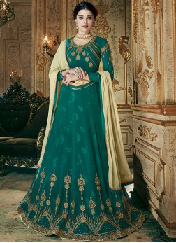 Fine Embroidered Green Designer Lehenga Choli