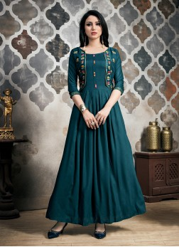 Fine Fancy Party Wear Kurti