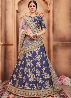 Flamboyant Art Silk Lehenga Choli