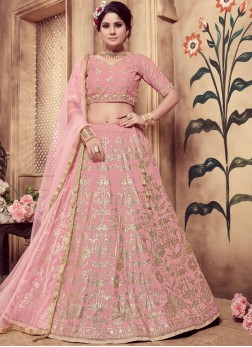Floral Art Silk Sangeet Designer Lehenga Choli