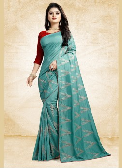 Glorious Print Ceremonial Traditional Designer Saree