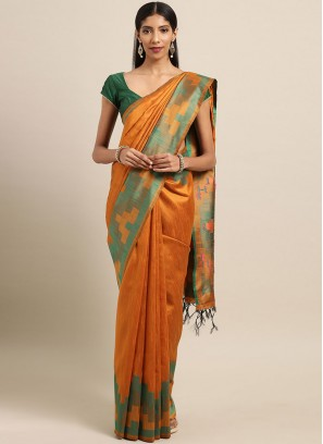 Glowing Designer Traditional Saree For Festival