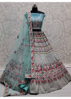 Gorgeous Flower Patterned & Multi Embroidered Flai