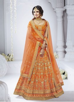 Graceful Embroidered Designer Lehenga Choli