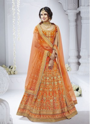 Graceful Embroidered Designer Lehenga Choli