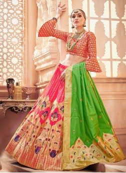 Grandiose Art Silk Designer Lehenga Choli