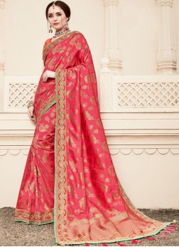 Gripping Resham Traditional Designer Saree