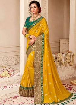 Honourable Weaving Art Silk Traditional Saree