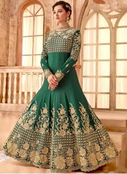 Ideal Embroidered Anarkali Salwar Suit