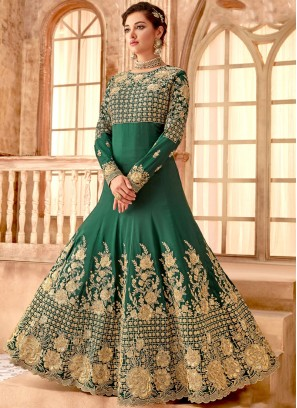 Ideal Embroidered Anarkali Salwar Suit