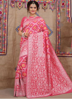 Ideal Weaving Traditional Designer Saree