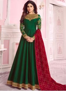 Immaculate Georgette Wedding Anarkali Salwar Suit