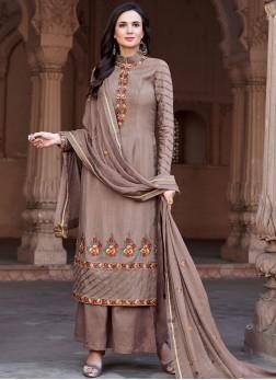 Immaculate Mauve  Festival Designer Pakistani Suit