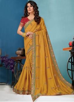 Imperial Raw Silk Designer Traditional Saree