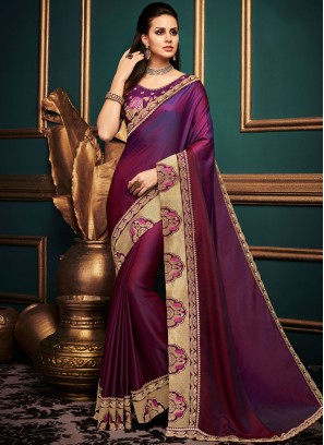 Imposing Art Silk Traditional Saree