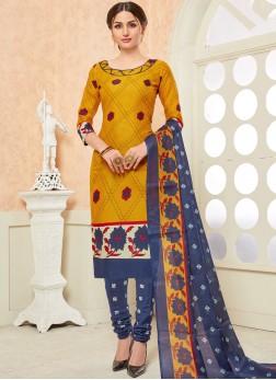 Innovative Cotton Churidar Suit