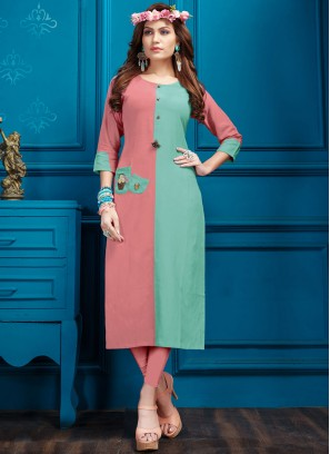 Intricate Fancy Festival Party Wear Kurti