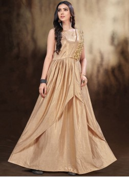 Intricate Floor Length Gown For Festival