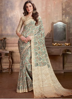Intrinsic Manipuri Silk Casual Printed Saree