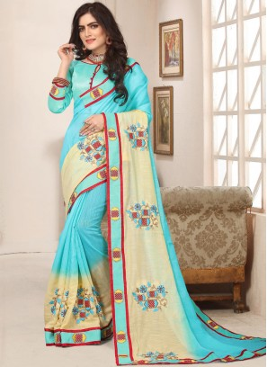 Invaluable Cotton Silk Party Trendy Saree