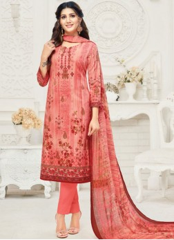 Lively Cotton Festival Churidar Suit